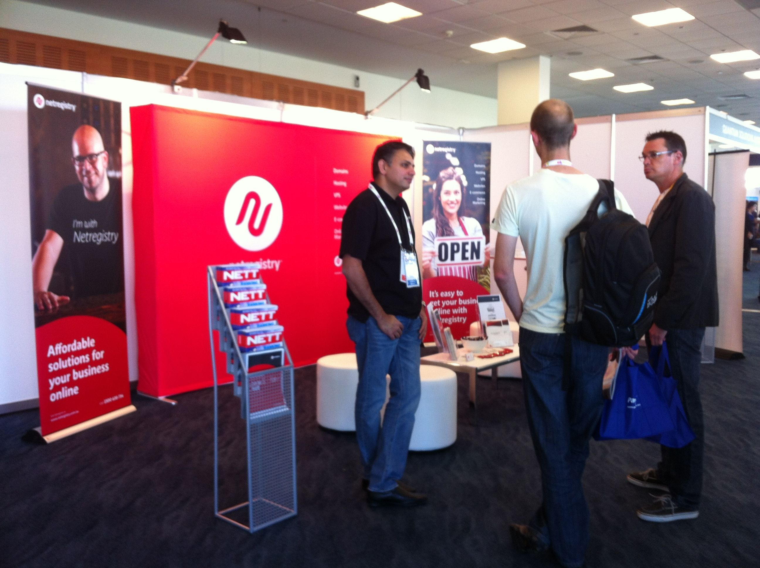 Netregistry at the Internet Conference, Gold Coast.