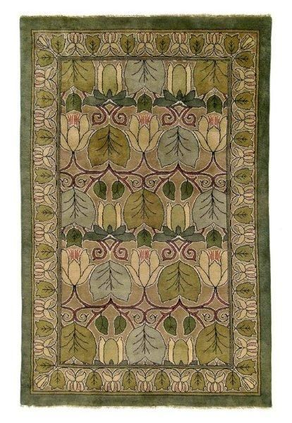 Arts And Crafts Rugs Purchasing From Voorhees Craftsman Is Green