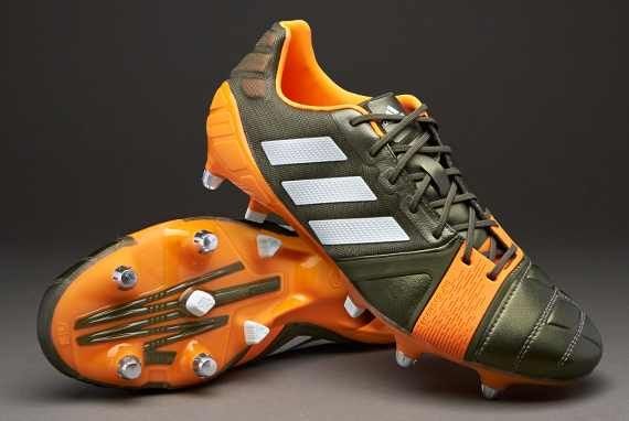 1aa1a549d adidas Nitrocharge 1.0 TRX SG - Green/White/Zest | Football ...