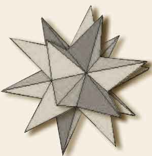 Significato dei Solidi Platonici - Grande Dodecaedro Stellato