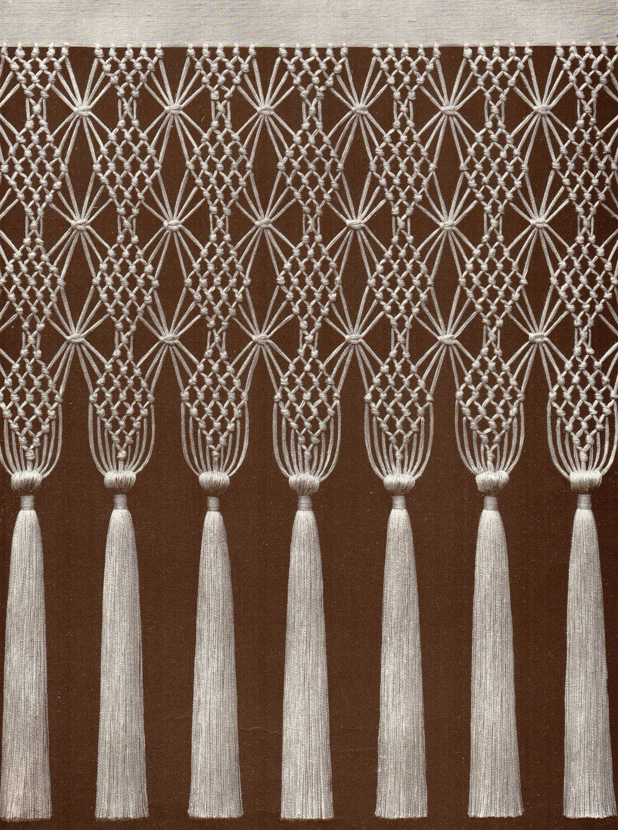 1000 Ideas About Macrame Curtain On Pinterest Macrame