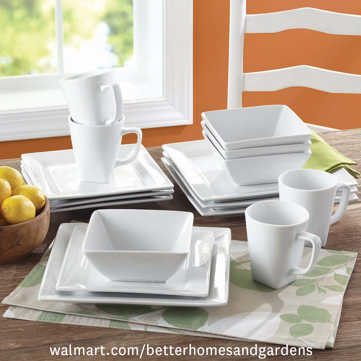 Home Square Dinnerware Set Dinnerware Set White Dinnerware Set
