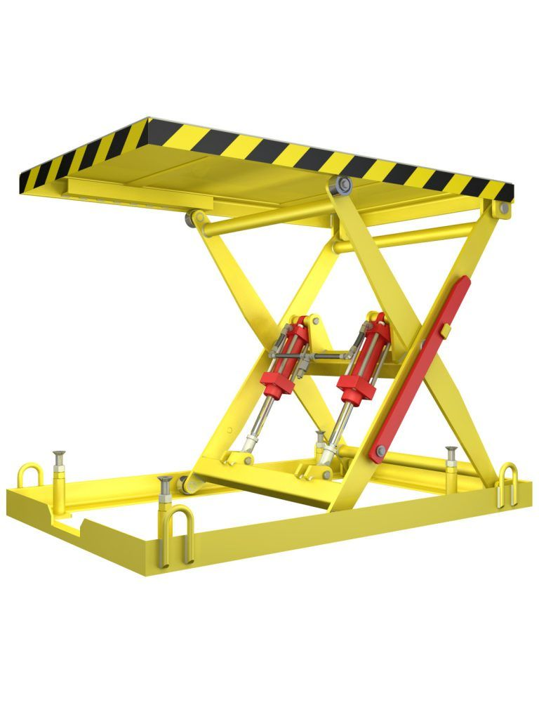 Do It Yourself Scissor Table Project Lift Table Scissor Lift Lift Design