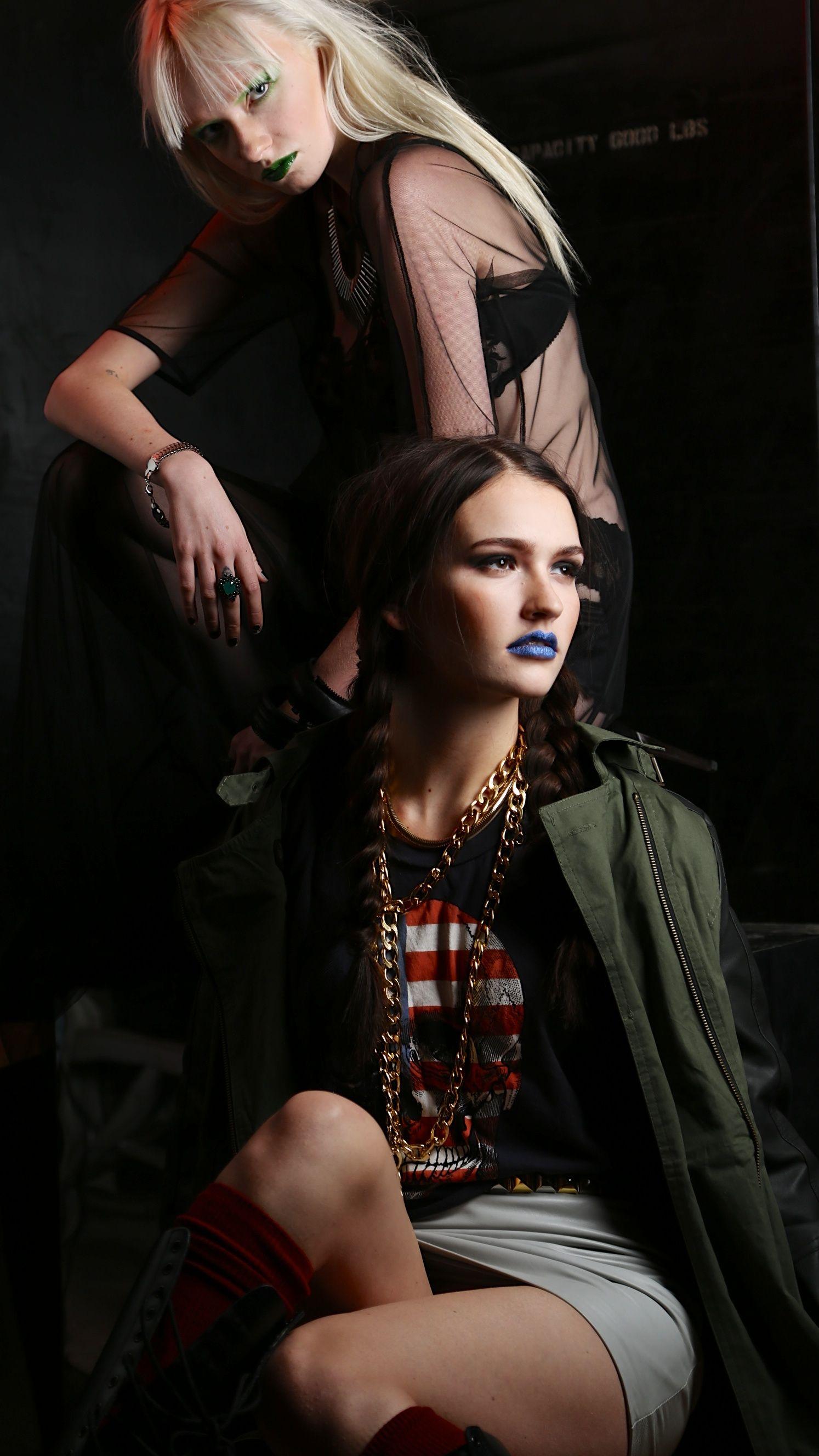 Blade Runner Industrial Shoot Model Ariel Beesly Wilhelmina LA