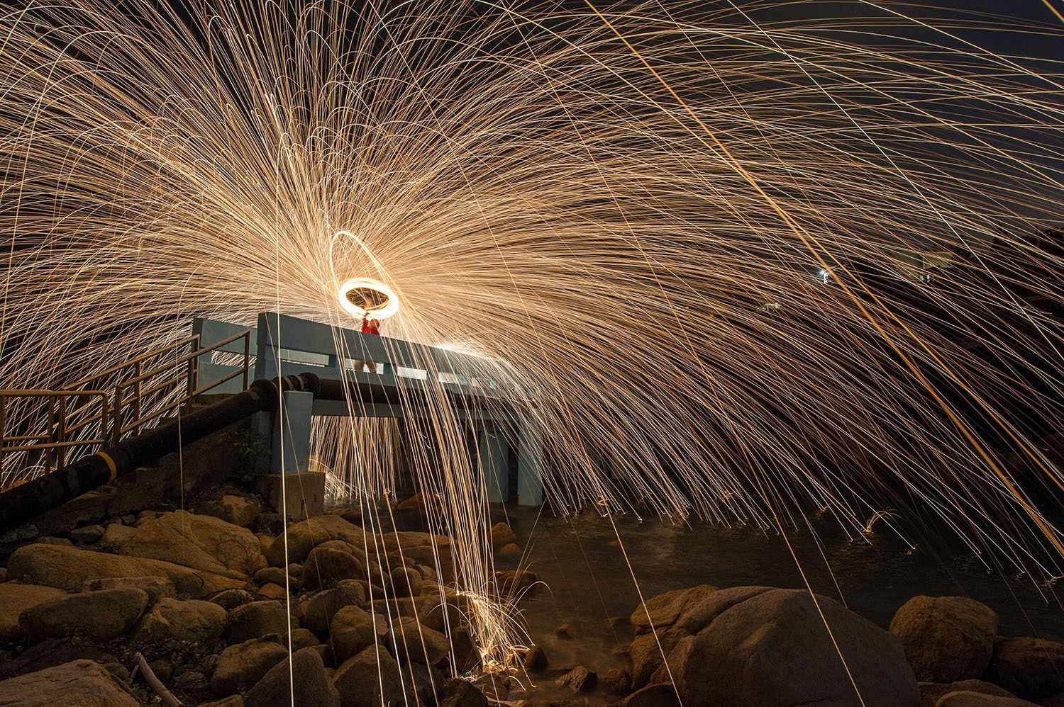 Engagement picture fun spinning steel wool on fire | Steel wool ...