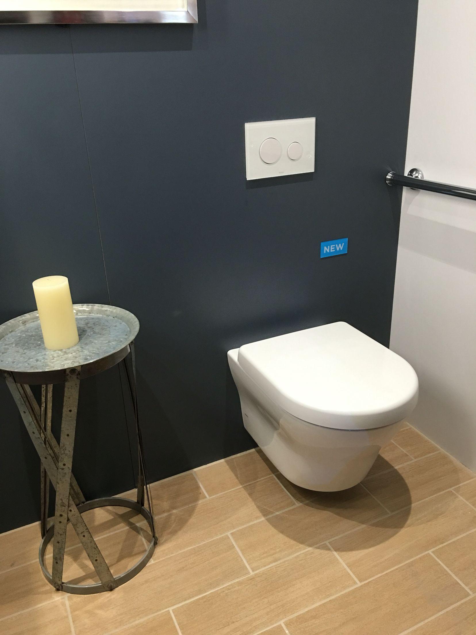 The space-saving, wall mount toilet from @totousa. #blogtourkbis ...