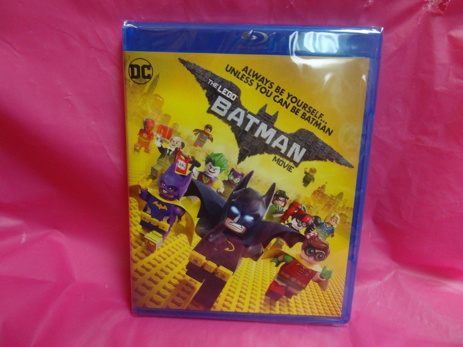 Brand New The Lego Batman Movie Blu Ray Dvd 2017 Free Shipping 71017 Minifigures Series Box Of 60