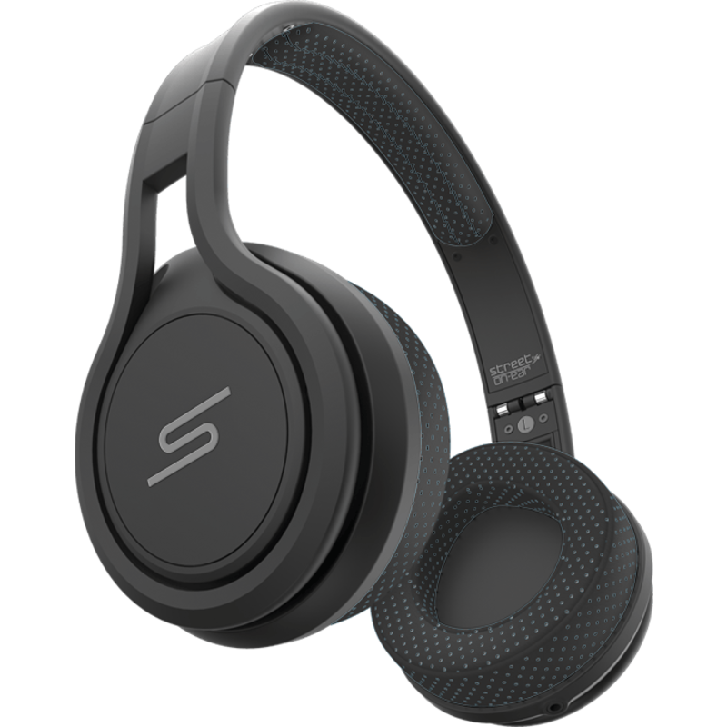 SMS Audio Street by 50 Wired On-Ear Sport Headphones   Black
