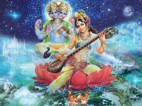 Shri Krishna Chaitanya Mahaprabhu Music ~ A Beautiful Song | Saraswati  goddess, Hindu art, Hinduism art