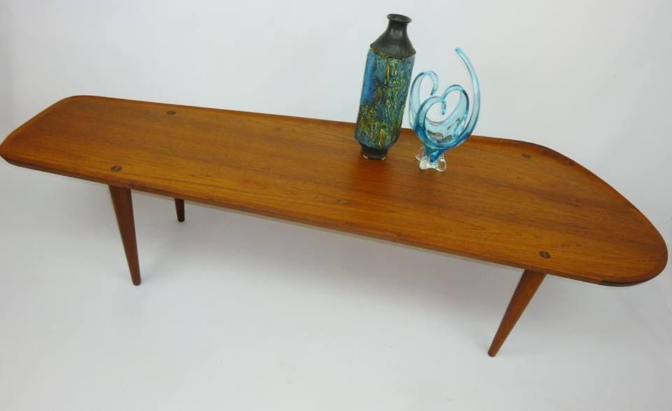 Wonderful Boomerang Coffee Table Simple Mid Century