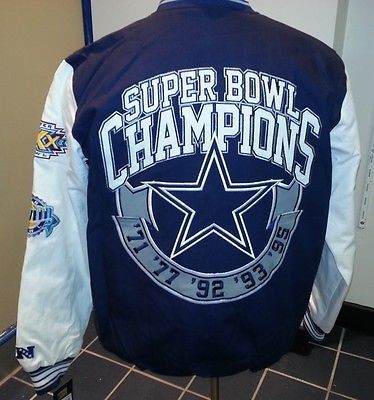 promo code 4b48f e6223 DALLAS COWBOYS Super Bowl CHAMPIONS 5 TIME Commemerative ...
