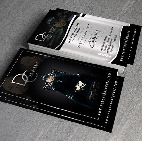 Dc the barber business card design at dt webdesigns power business dc the barber business card design at dt webdesigns colourmoves