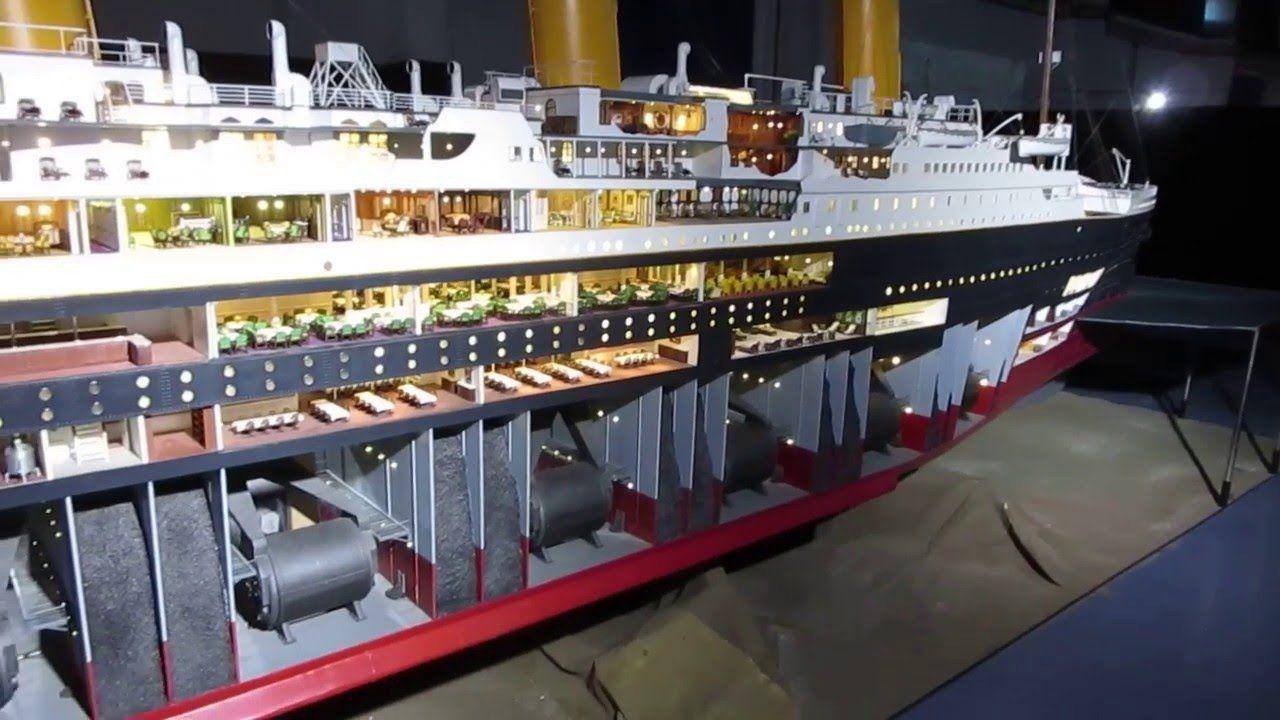 Titanic 18ft scale model - YouTube