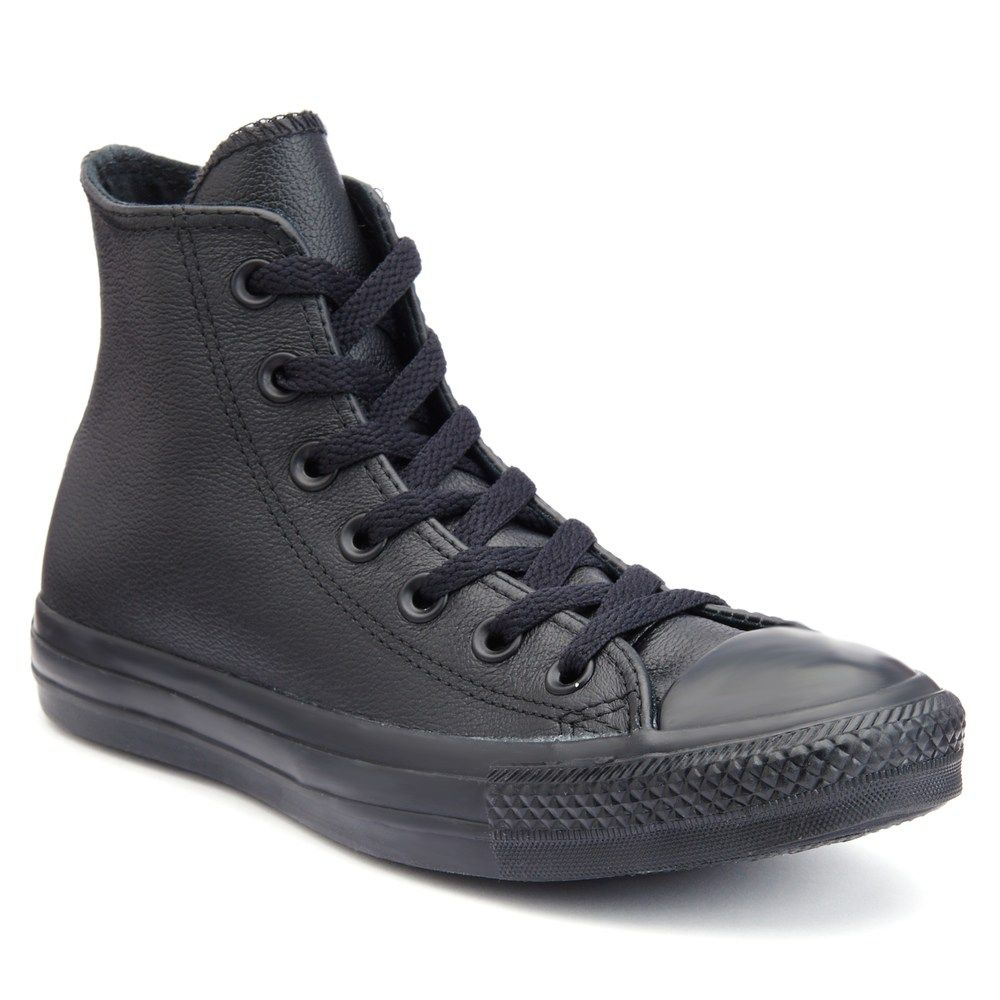 8d90bb7e8d47 Adult Converse Chuck Taylor All Star Monochromatic Leather High-Top Sneakers