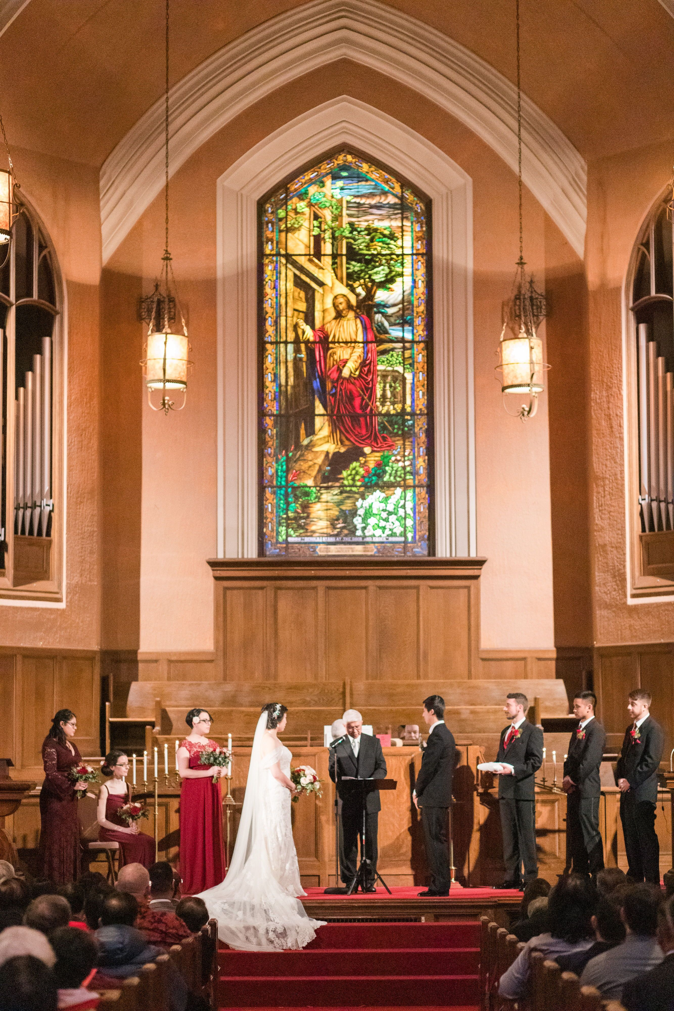 Classic Church wedding in Downtown Sacramento, CA