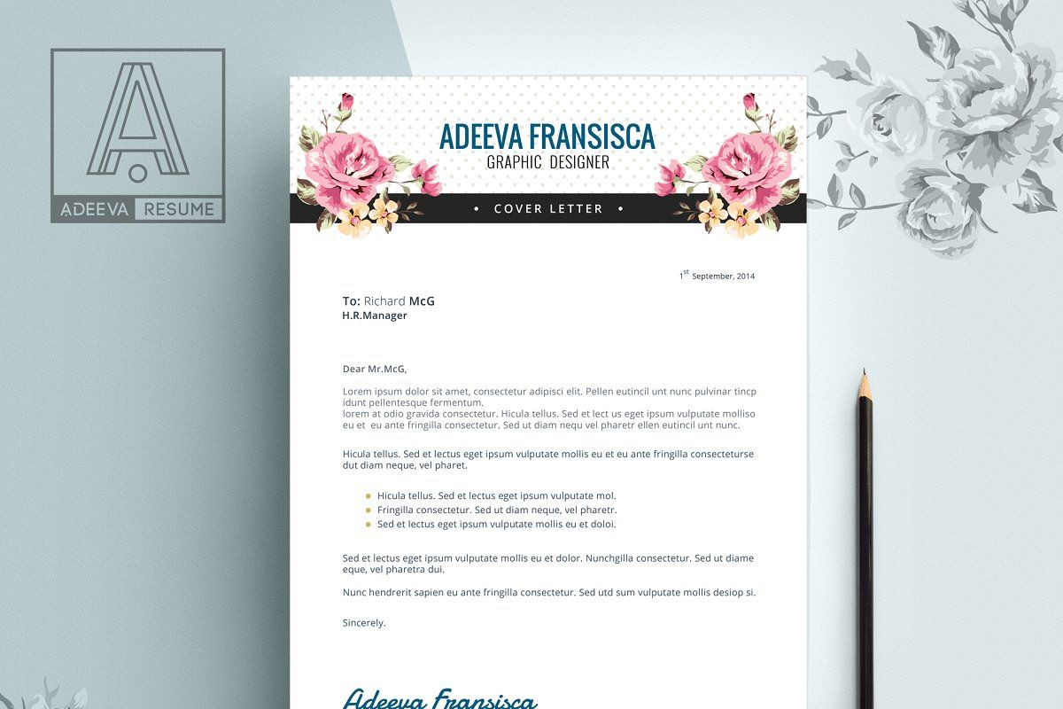 Vintage Resume Template Fransisca Resume Template Templates Cover Letter Template