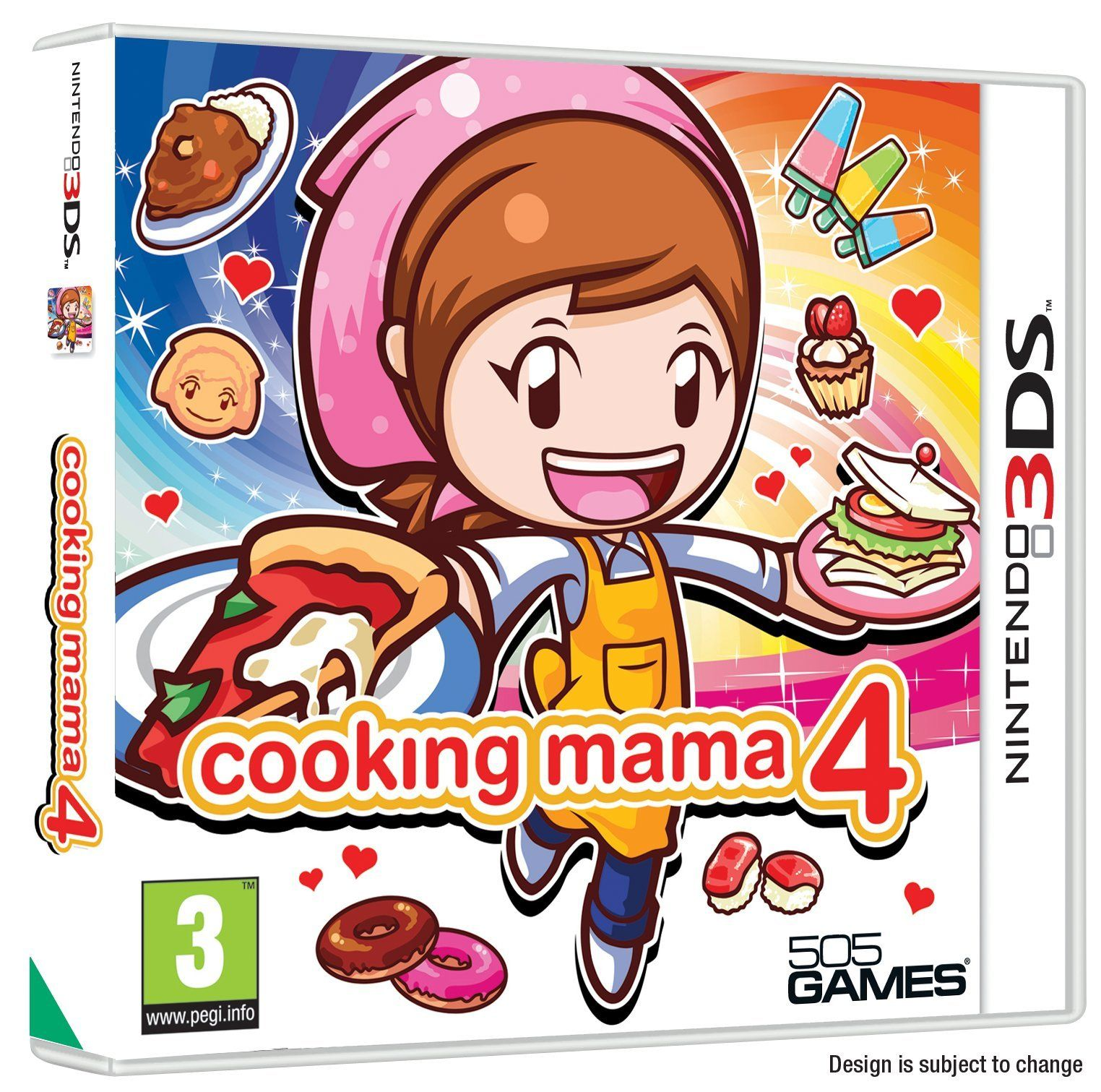 Cooking Mama 4 (Nintendo 3DS) Nintendo 3ds, Ds games