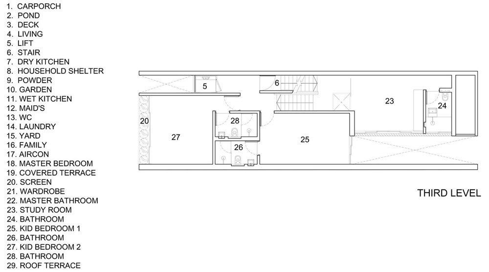 Plano de casa con azotea casa Pinterest Planos de casa, Planos