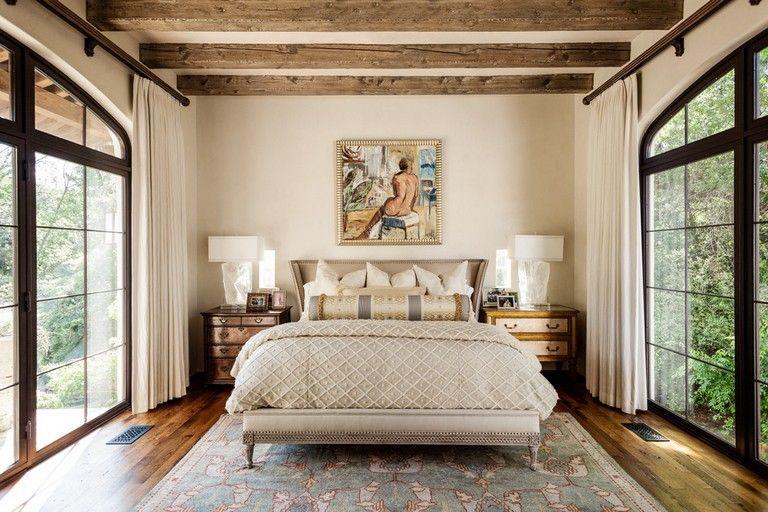 24 Comfy Inspiring Mediterranean Bedroom Design Ideas