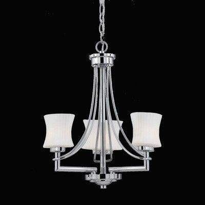 Triarch Lighting 31208 3 Light Astro Mini Chandelier Ebay