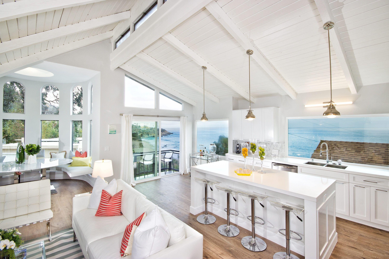 Laguna Beach Ocean Front Cottage Kitchen By Payton Addison