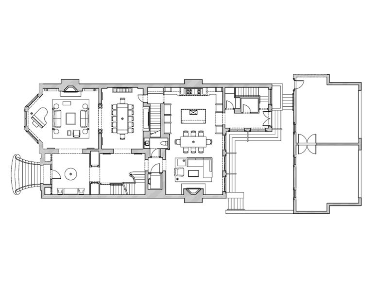 Georgian Townhouse Town House Floor Plan House Plans Georgian Townhouse