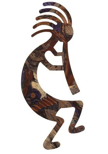 24\' Kokopelli Wall Art / Southwestern Themed Wall Décor ** Check out ...
