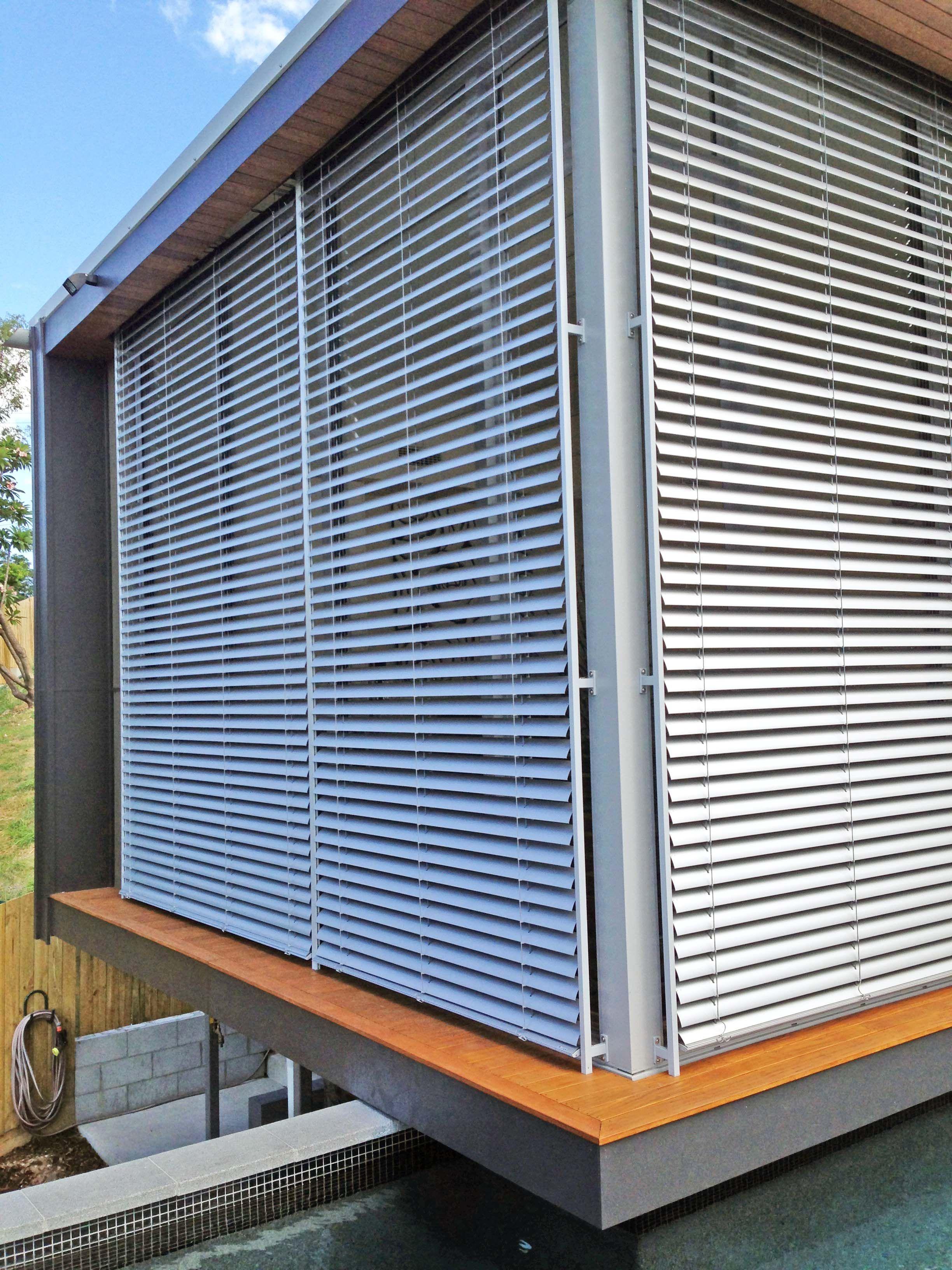 Hella external venetian blinds vanguard blinds brisbane u sydney