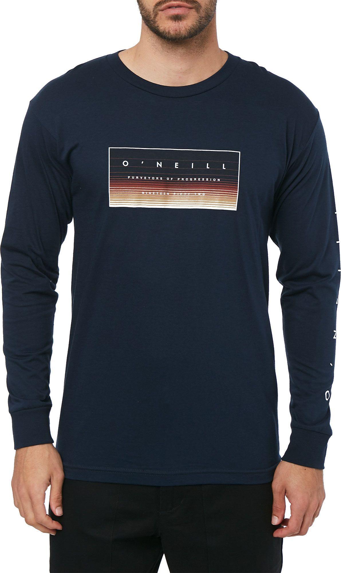 O/'neill Men White Sunset Graphic Cotton T-Shirt