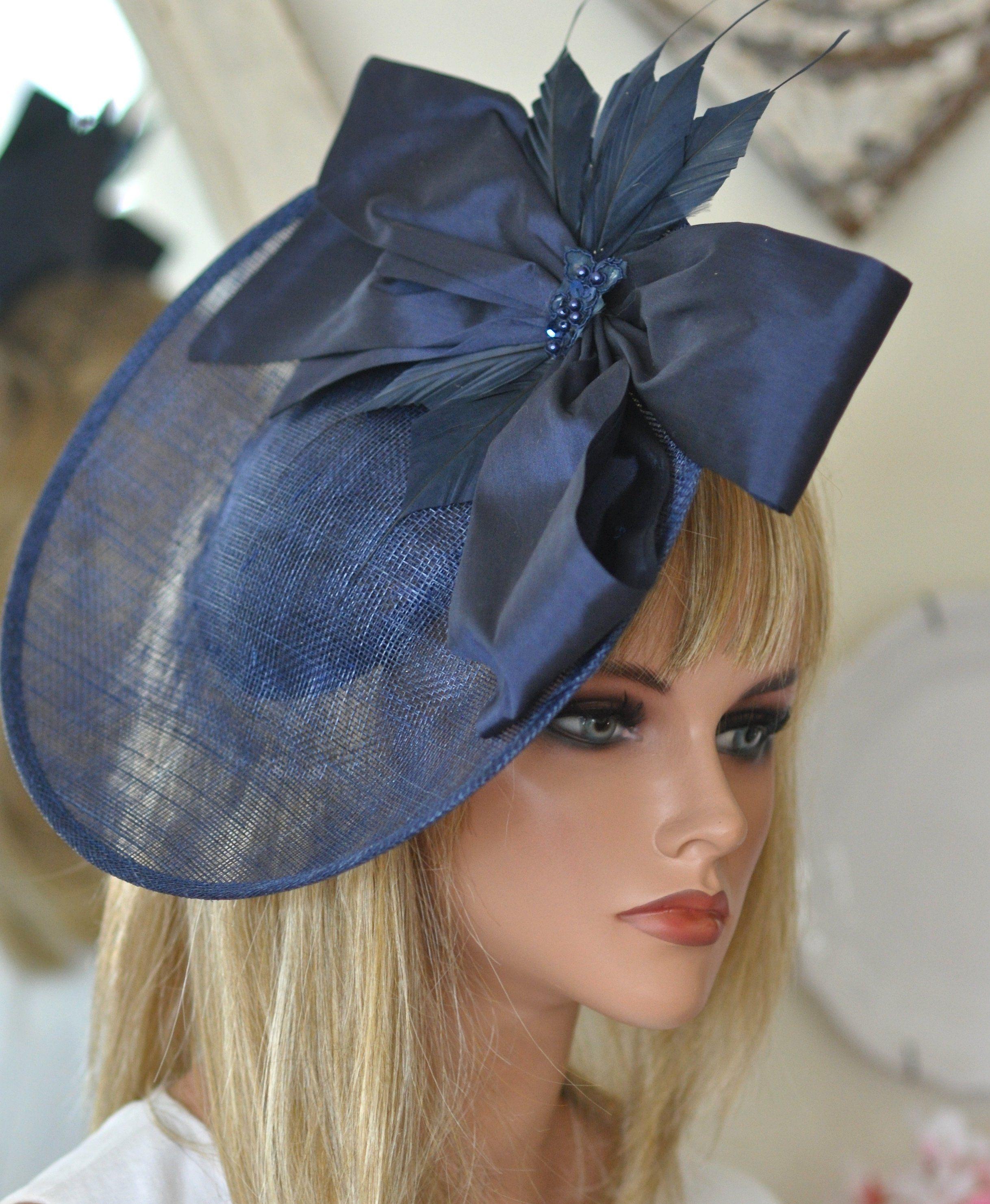 Vic Gray Women Fashion Fascinator Elegant Derby Wedding Party Headwear Ladies Hair Accessories