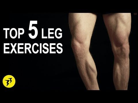 top 5 leg exercises  in home  bodyweight no equipment