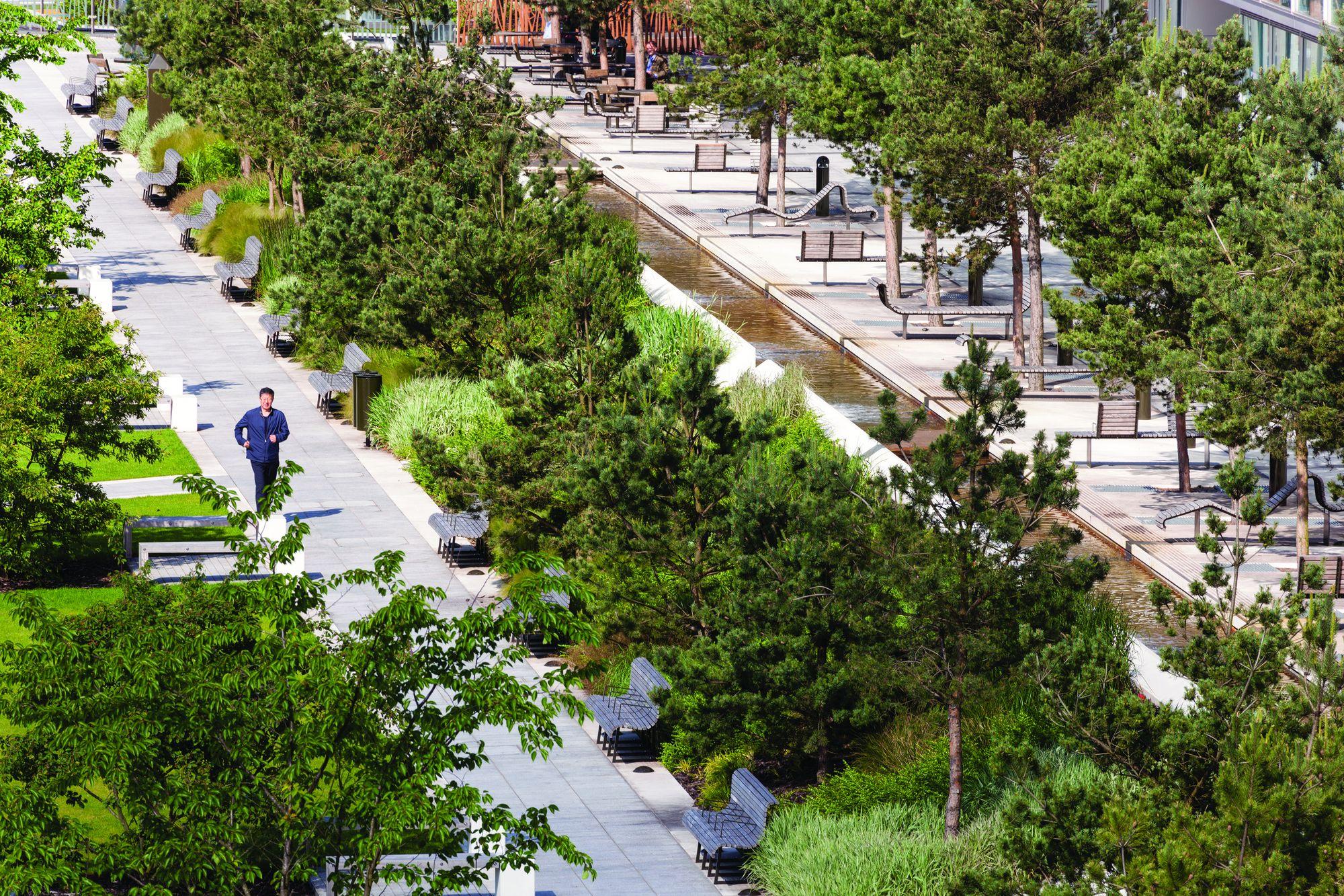 Eastside City Park / Patel Taylor | Pinterest | Reino unido, Parque ...