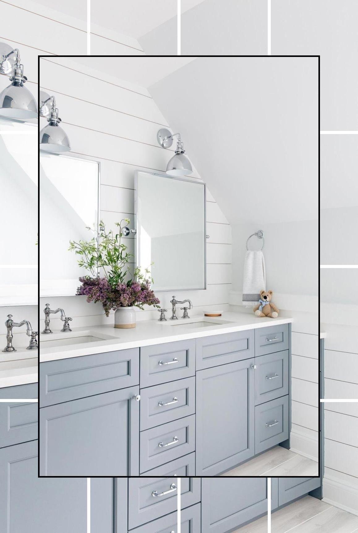 cream bathroom accessories  blue and gray bathroom decor