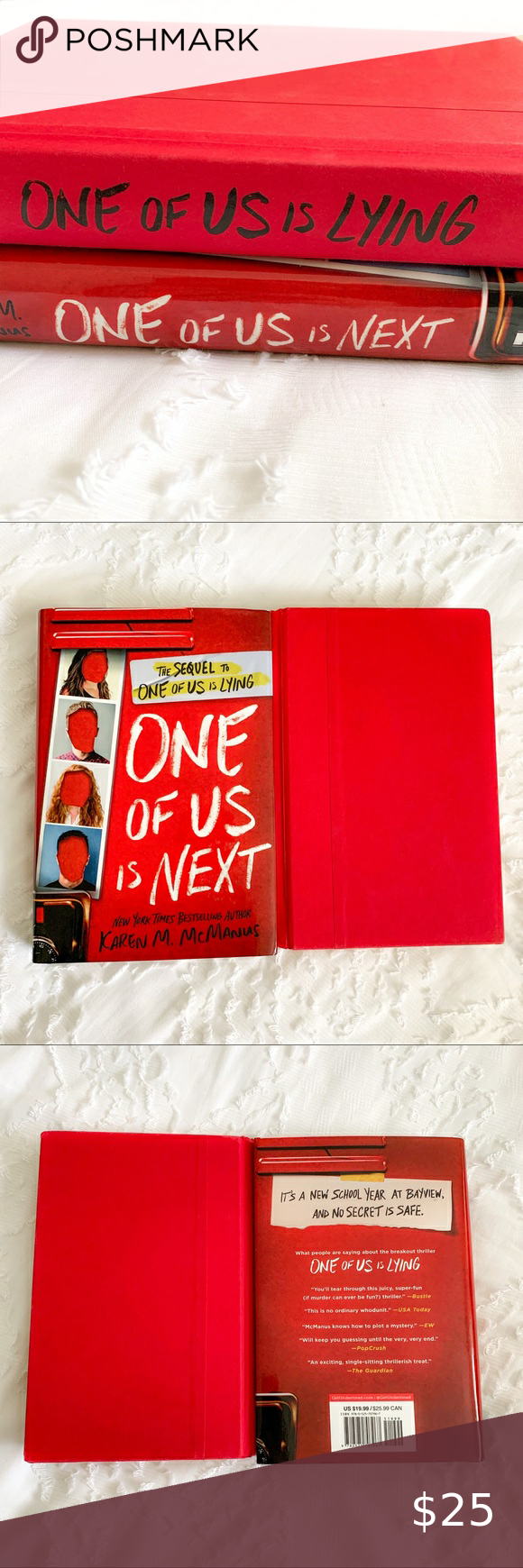 Ya Book Series One Of Us Is Lying By Karen Mcmanus Ya Books Mini Tablet Karen