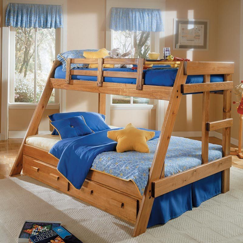 Savannah A Frame Twin Over Full Bunk Bed 504 01