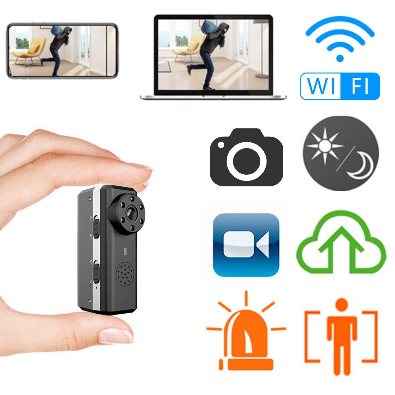 Smallest WiFi Camera,ZTour Indoor HD IP Wireless Smart