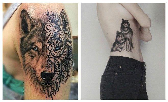 Fotos de lobos para tatuajes Tatuajes Pinterest