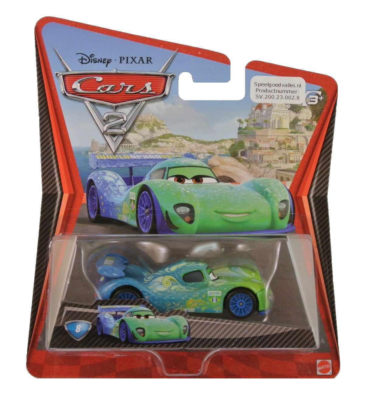 Cars carla veloso is de 8 uit de collectie van disney for Cars autootjes