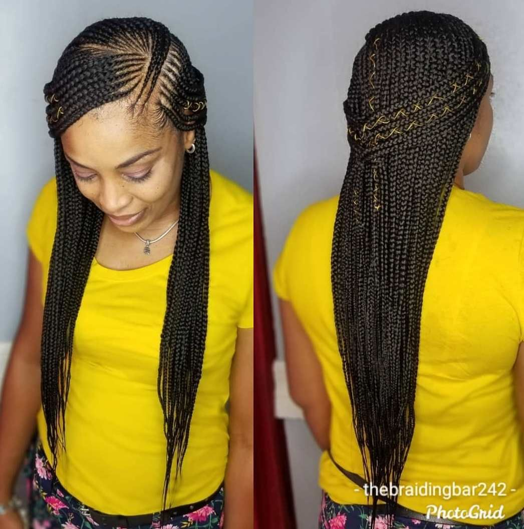 30 Best Cornrow Braids And Trendy Cornrow Hairstyles For 2020 Hadviser In 2020 Cornrow Hairstyles Braided Hairstyles Updo Scalp Braids