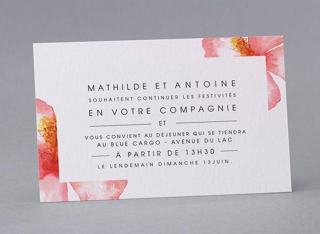 Invitation Mi40 017 Faire Part Mariage Invitation Faire Part