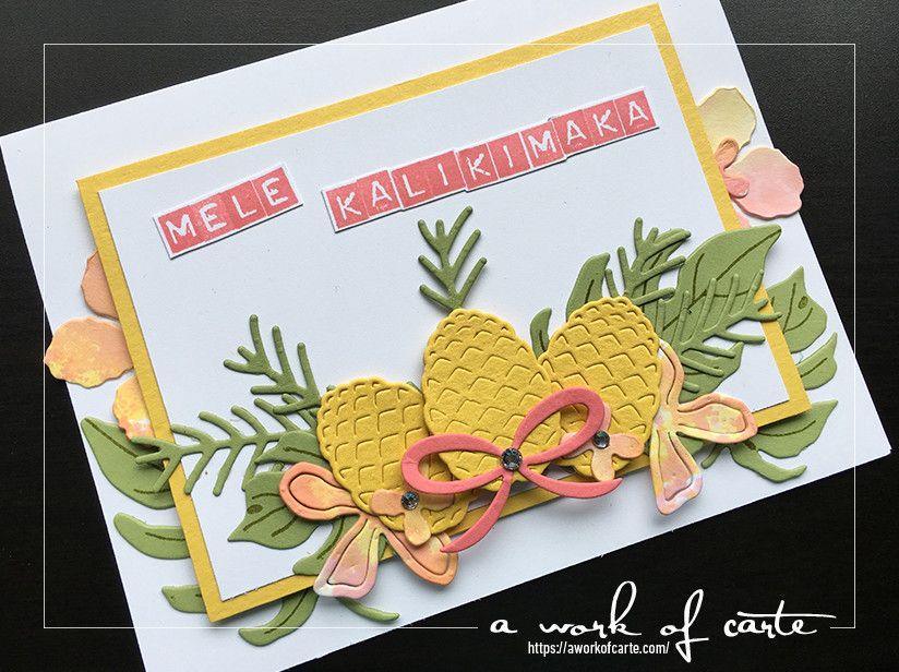 Christmas Pines: Mele Kalikimaka & Christmas Blessings | Stampin\' Up ...