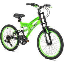 Walmart 20 Thruster Dirt Ds Boys Mountain Bike Green Boys