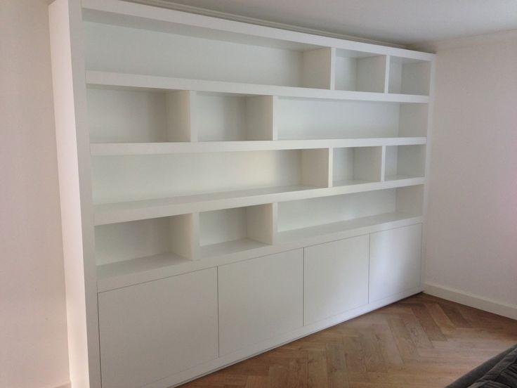 image result for boekenkast modern hoog wit kasten pinterest