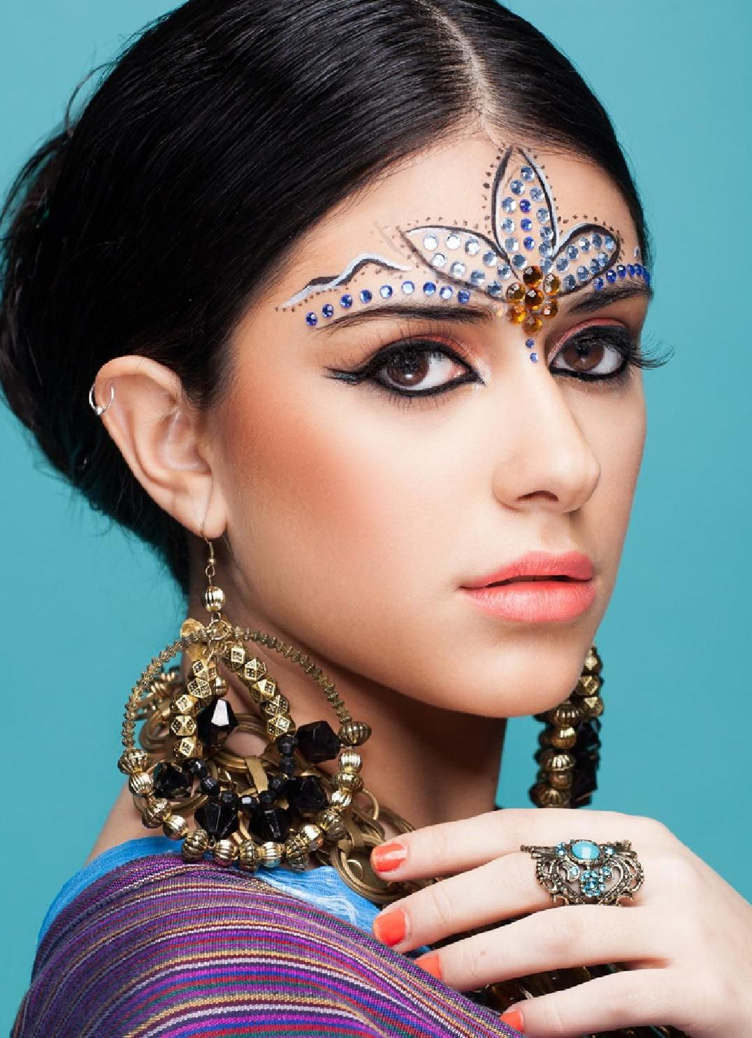 Make Up Power 3 Ethnic Tribal Maquillaje Hindu