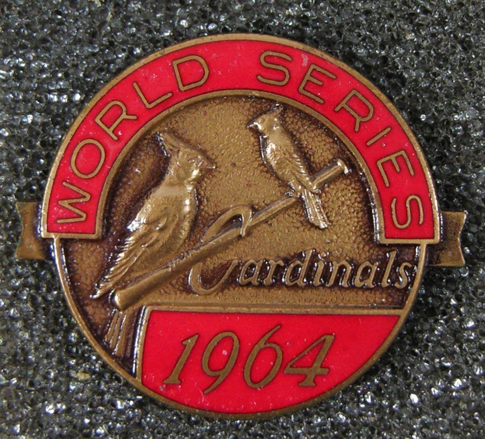 Details about ST.LOUIS CARDINALS 17th World Series Busch