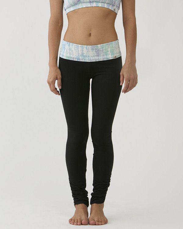 Tie-Dye Print Leggings (Long) / moani yoga / yoga bottoms