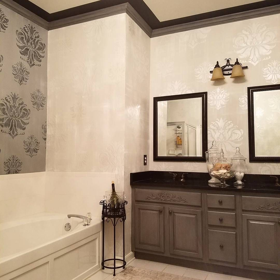 Flat Paint Bathroom: What A Beautiful Bath By Decorative Painter Janell's