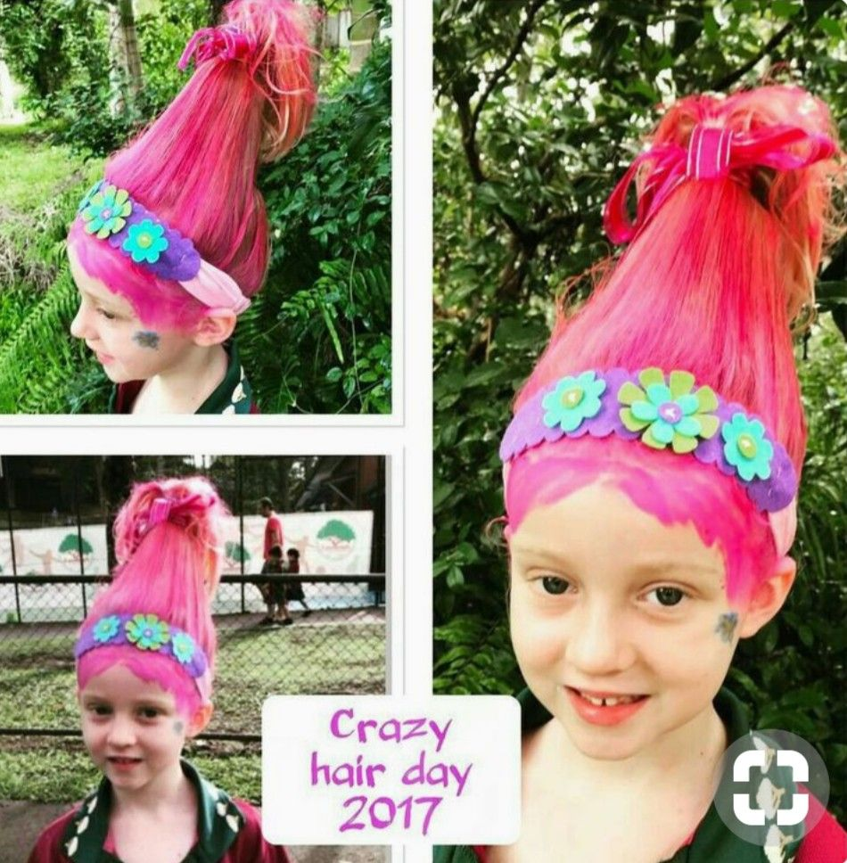 Pin By Deb Moulton On Kids Create In 2019 Wacky Hair