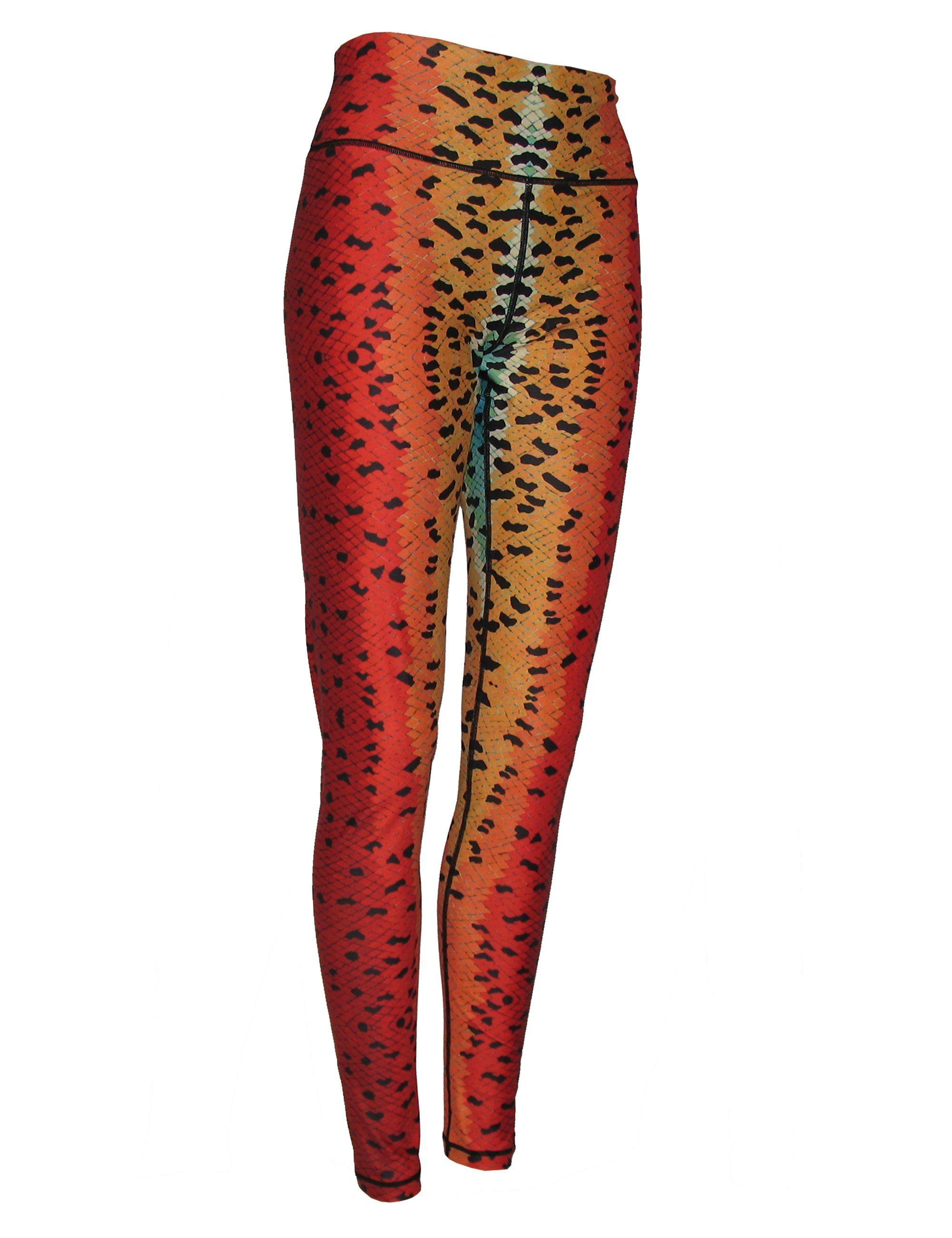 5cc5a40a5e632 Rainbow#2 Trout All Sport Leggings | Products | Sports leggings ...