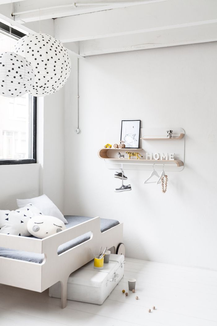 Bright, White and Minimal Kids Rooms - Petit & Small